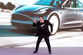 Elon Musk dancing