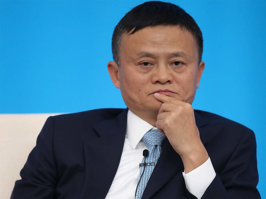 Jack Ma de gelukkigste Chinees